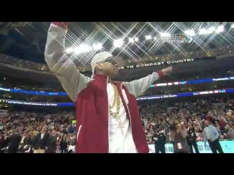 SIXERS HONOR ALLEN IVERSON WITH BOBBLE HEAD NIGHT 2013 03 31