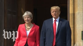Trump and May hold joint news conference - WASHINGTONPOST