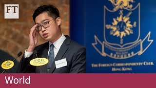 HK independence activist provokes Chinese anger - FINANCIALTIMESVIDEOS