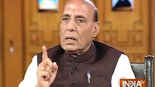 स्थायी सरकार के आधार पर अगर कोई समर्थन करता है तो उसे मना नहीं किया जा सकता: राजनाथ सिंह - INDIATV