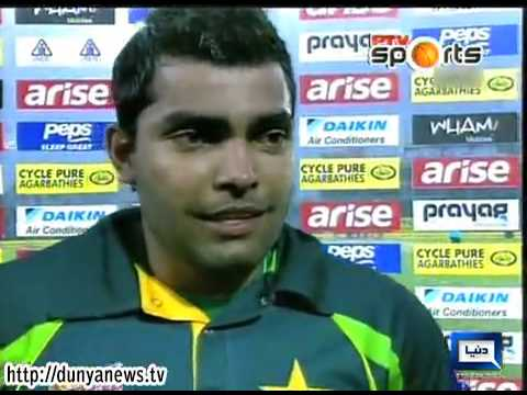 Dunya News-Umar Akmal dedicates century to mother and wife