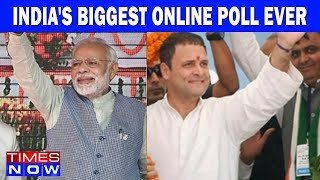 India's Biggest Online Poll Ever | India Upfront With Rahul Shivshankar - TIMESNOWONLINE