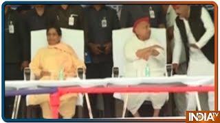 गेस्ट हाउस कांड के बाद एक साथ आए Mayawati-Mulayam, जानें क्या कहां - INDIATV