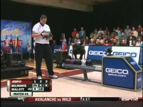 2011 WSOB World Open: Match 1: Jason Belmonte vs Wes Malott  part 1