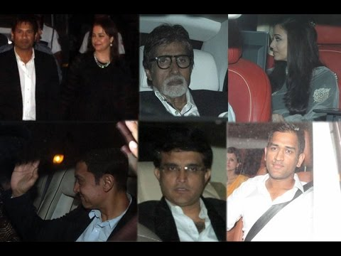 Sachin Tendulkar's Farewell Party | Amitabh Bachchan, Aamir Khan, Raj Thackeray