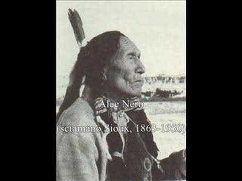 Meditazione e preghiera: Alce Nero, sciamano Sioux, Parte I