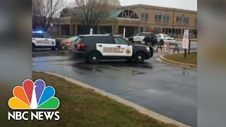 Police On Scene At School Shooting In Great Mills, Maryland | NBC News - NBCNEWS