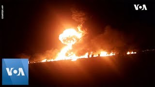 Mexico Pipeline Blast Death Toll Climbs to 66 - VOAVIDEO