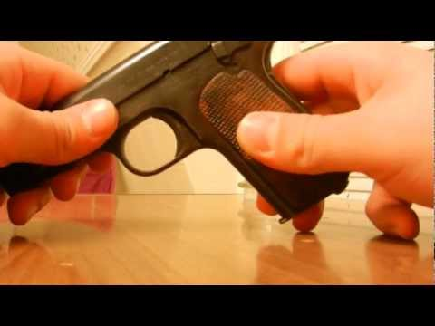 A Review of The Colt 1903 Pocket Hammerless .32ACP