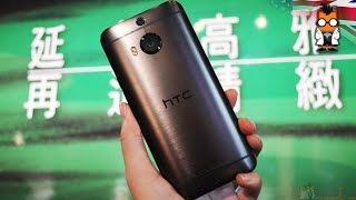 مقطع فيديو يستعرض لنا الهاتف +HTC One M9 وهو قيد العمل