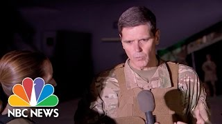 Army Generals Detail Central Role Of 'Q-West' Base In Mosul   NBC News - NBCNEWS