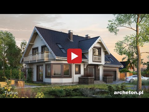Projekt domu Turkus - archeton.pl