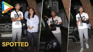 Injured Ranveer Singh Visit His Doctor - HUNGAMA