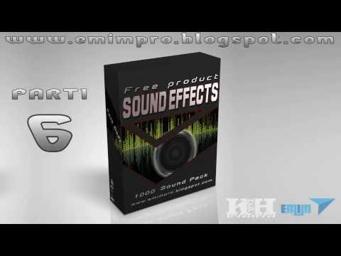 Best free sound effects download pack EMIMPRO : parti 6
