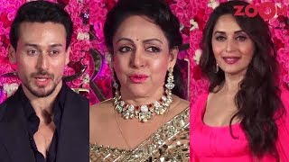 Tiger Shroff on his wedding plans | Hema Malini & Madhuri Dixit at an award show - ZOOMDEKHO