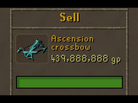 After 180 keystones - Ascension Crossbow (200M profit in 7 hours)