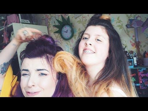 BLEACH HER HAIR AT 12