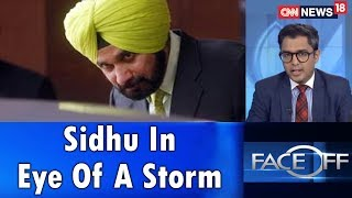 Sidhu In Eye Of A Storm | #SidhuKartarpurRow | Face Off | CNN News18 - IBNLIVE