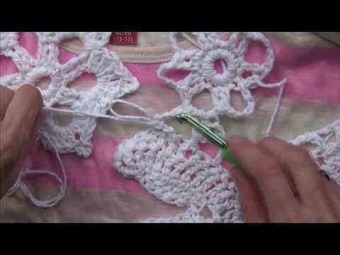Crochet a Free Form Top Pt 4 of 10