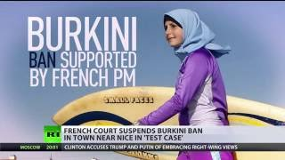 France's highest court overturns burkini ban in town near Nice - RUSSIATODAY