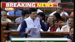 Question Hour : Piyush Goyal answers to Opposition Questions | CVR News - CVRNEWSOFFICIAL
