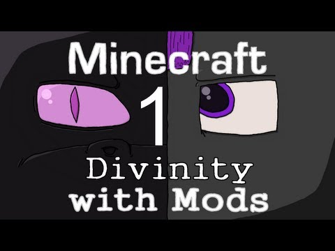 Minecraft: Divinity with Mods(1): Reaching Divinity