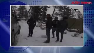 video : मनाली, शिमला में भी बर्फबारी