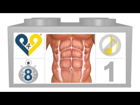 8 Min Abs - No Music