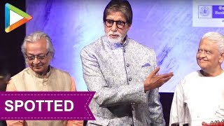 SPOTTED: Amitabh Bachchan at the launch of Kartick Kumar Foundation - HUNGAMA