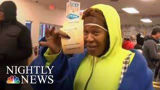 Mega Millions Will Grow To $2 Billion If There Is No Winner Tuesday | NBC Nightly News - NBCNEWS