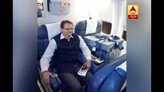 Presidential Election 2017:  'Mr Ballot Box' travels in business class to New Delhi - ABPNEWSTV