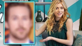 Katherine McNamara reveals her CELEBRITY CRUSH! | Katherine McNamara Interview - HOLLYWIRETV