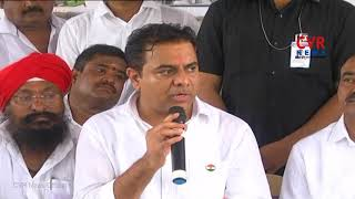 KTR fires on Rahul Gandhi and Congress Leaders | Karimnagar | CVR News - CVRNEWSOFFICIAL