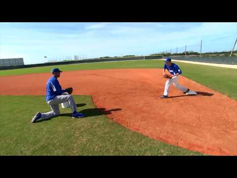 First Base Drills - Fundamentals of First Base Series by IMG Academy Baseball Program (4 of 4)