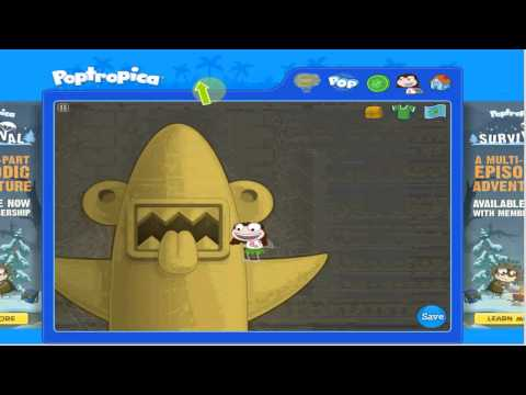 Poptropica Shark Island Playthrough [Part 2]