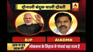 """Signs of AIADMK and BJP working together is like a """"double-barrel gun"""", says TN ruling - ABPNEWSTV"""
