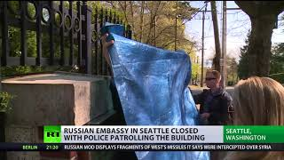 US authorities break into closed Russian consulate residence in Seattle - RUSSIATODAY