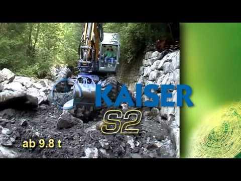 Kaiser - kráčivé bagry S1 a S2