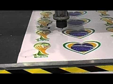 Máquina Router CNC - FESMO Feira da Mecânica 2014