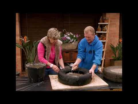 The Gardener Magazine: Making Concrete Floating Stepping Stones