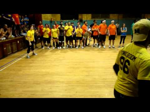 Ball Hogs daisy vs Spearmint Rhino royal 3 3 Longest Dodgeball Match Ever