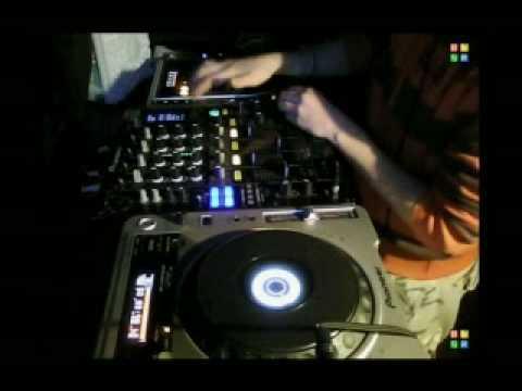 Pioneer DJM-800 trans effect & scratching