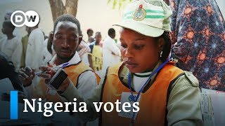 Nigeria election 2019: Voters go to polls after tense one week delay | DW News - DEUTSCHEWELLEENGLISH