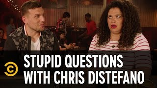 Michelle Buteau Really Loves Mimosas - Stupid Questions with Chris Distefano - COMEDYCENTRAL
