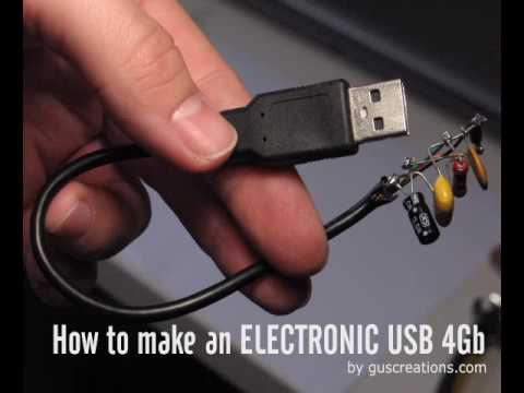 How to make an Electronic USB 4Gb