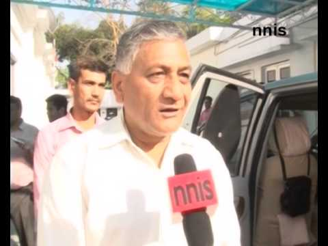 Decision On Army Chief By Govte In A Tearing Hurry -- Vk Singh