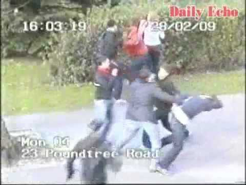 Football Thugs Clash in Southampton