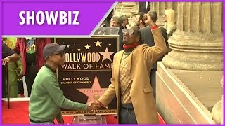 Snoop Dogg awarded Hollywood Walk of Fame star with tributes from Quincy Jones and Dr Dre - THESUNNEWSPAPER