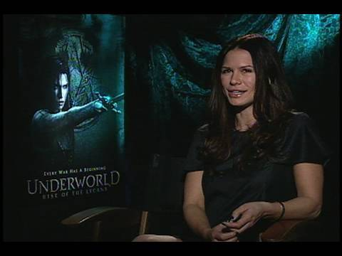 Rhona Mitra Interview (Underworld: Rise of the Lycans)