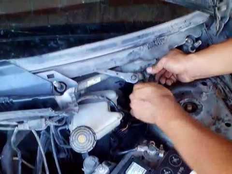 como quitar y reparar motor de limpiaparabrisas de ford fiesta